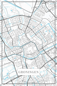 Mappa di Groningen white