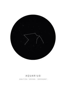 Illustrazione horoscopeaquarius