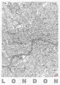 Mappa di London