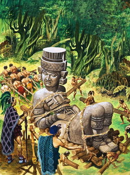 Mayans, the First American Indians - Stampe d'arte