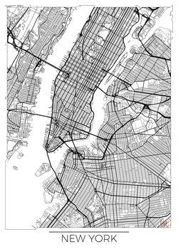 Mappa di New York