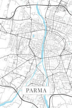 Mappa Parma white