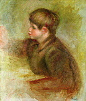 Portrait of Coco painting, c.1910-12 - Stampe d'arte