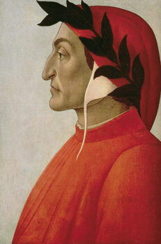Portrait of Dante - Stampe d'arte