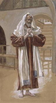 Saint Andrew, illustration for 'The Life of Christ', c.1886-94 - Stampe d'arte