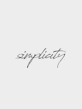 Illustrazione Simplicity