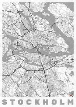 Cartina di Stockholm