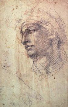 Study of a Head - Stampe d'arte