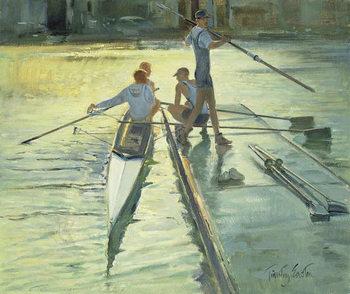Sunset Raft - Stampe d'arte