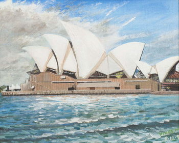 Sydney Opera House, 1998, - Stampe d'arte