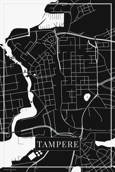 Mappa di Tampere black