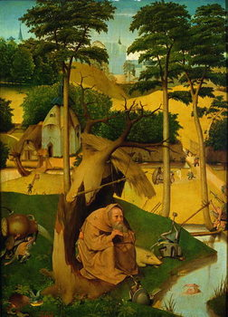 Temptation of St. Anthony, 1490 - Stampe d'arte