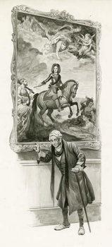 The Duke of Marlborough as an old man - Stampe d'arte