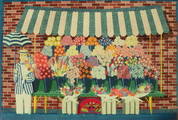 The Flower Man - Stampe d'arte