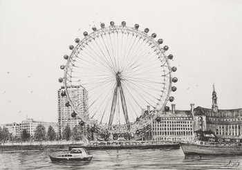 The London Eye, 2006, - Stampe d'arte