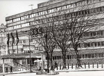 The Old BBC Oxford road Manchester, 2011, - Stampe d'arte