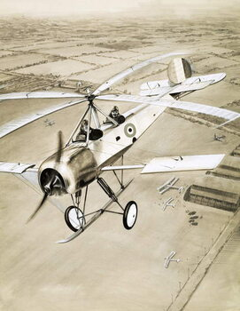 This Made News: The Windmill Plane - Stampe d'arte