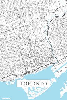 Mappa Toronto white