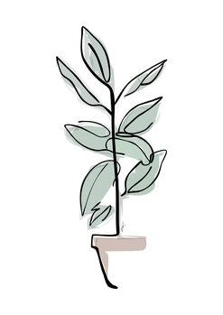 Illustrazione Vaso colore