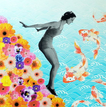 Water baby, 2019, - Stampe d'arte