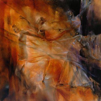 Illustrazione Balance: four dancers