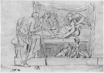 Death of Meleager - Stampe d'arte