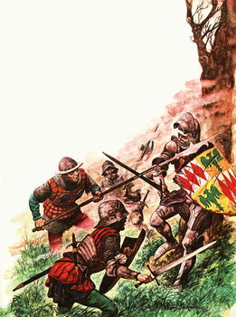 Death of the Earl of Warwick - Stampe d'arte