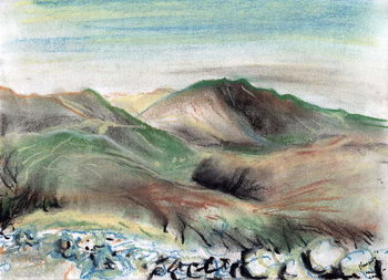 Hills in the Lake District, 2005, - Stampe d'arte