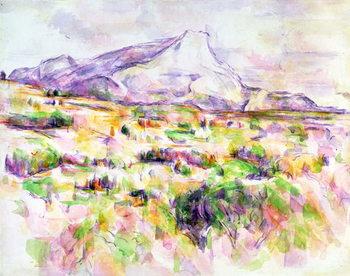 Mont Sainte-Victoire from Les Lauves, 1902-06 - Stampe d'arte