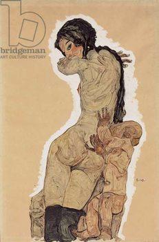 Mother and Child; Mutter und Kind, 1910 - Stampe d'arte