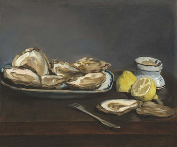 Oysters, 1862 - Stampe d'arte