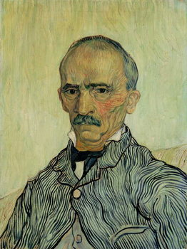 Portrait of Superintendant Trabuc in St. Paul's Hospital, 1889 - Stampe d'arte