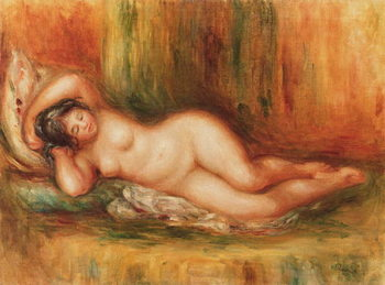 Reclining bather - Stampe d'arte