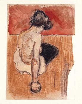 Sitting Model - Stampe d'arte