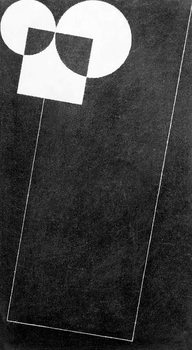 Slate, with Square and Two Cirles, 2004 - Stampe d'arte