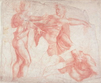 Studies of Male Nudes - Stampe d'arte