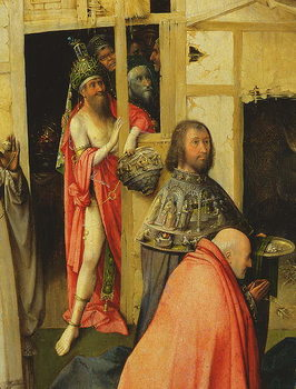 The Adoration of the Magi, detail of the Antichrist, 1510 (oil on panel) - Stampe d'arte
