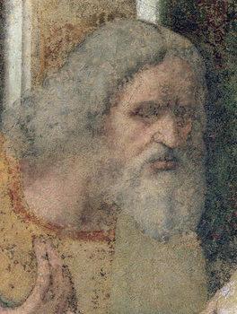 The Last Supper, 1495-97 (fresco) (post restoration) - Stampe d'arte