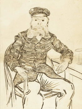 The Postman Joseph Roulin, 1888 - Stampe d'arte