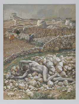The Son of the Vineyard, illustration from 'The Life of Our Lord Jesus Christ' - Stampe d'arte