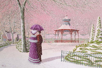Walking in the Snow - Stampe d'arte
