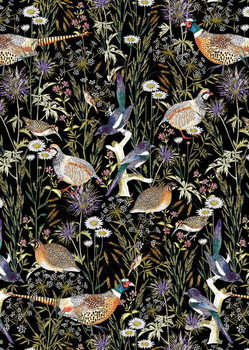 Woodland Edge Birds - Stampe d'arte