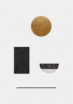 Ilustrare Abstract Geometric I