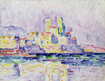 Antibes (study), 1918-19 Reproducere
