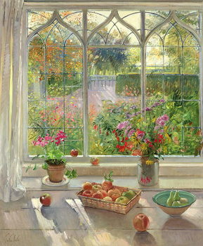 Autumn Fruit and Flowers, 2001 Reproducere