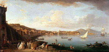 Bay of Naples from the North Reproducere