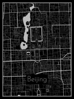 Harta orașului Beijing