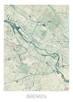 Harta orașului Bremen