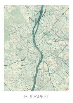Harta orașului Budapest