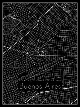 Harta orașului Buenos Aires